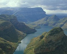 Part of the Blyde River Canyon on the Panorama Route in Mpumalanga, South Africa.