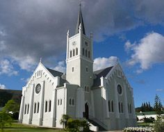 Barrydale NG Kerk (DRC), a landmark in the popular town on Route 62.