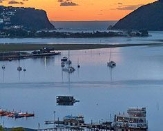 The Knysna Estuary and Heads.