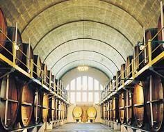 KWV's Cathedral Cellar in Paarl, a town in South Africa's Cape Winelands.