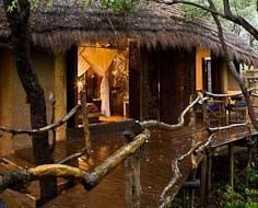 A guest chalet at Makalali Private Game Reserve