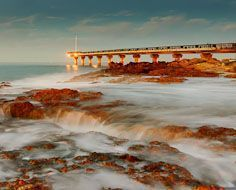 Shark Rock Pier at Port Elizabeth's Hobie Beach.