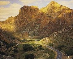 The scenic Cogmanskloof Mountain Pass is encountered on the pupular Route 62 between Montagu and Ashton in South Africa's Western Cape Province.