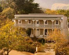 Schoone Oordt Country House, a boutique luxury guesthouse, in Swellendam. The town feature many fine examples of 18th and 19th century architecture.