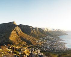 Table Mountain and The Twelve Apostles