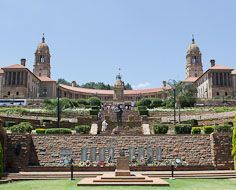 The Union Buildings in Pretoria, South Africa's administrative capital.