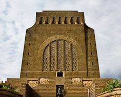 The Voortrekker Monument in Pretoria