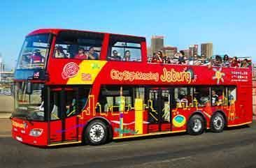 Citysightseeing bus in Johannesburg