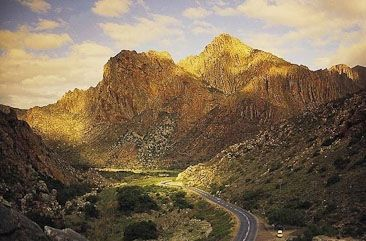 Section of the Cogmanskloof Pass
