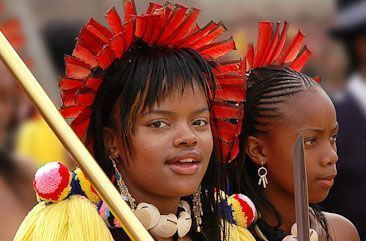 Members of the Swazi Royal Family