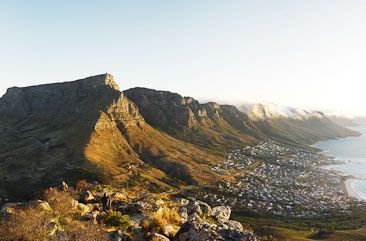 Table Mountain viewed from Lion's Head