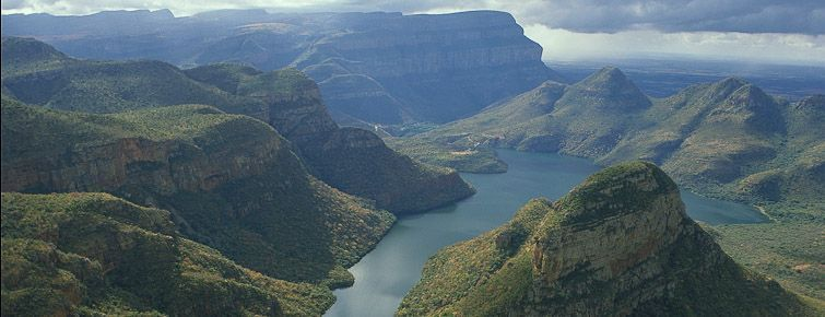Part of the Blyde River Canyon
