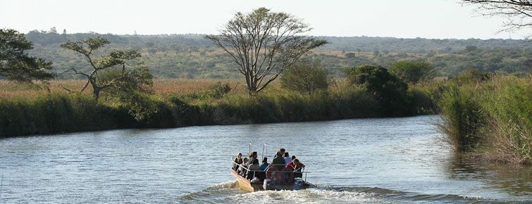 Bonamanzi Game Reserve river cruise