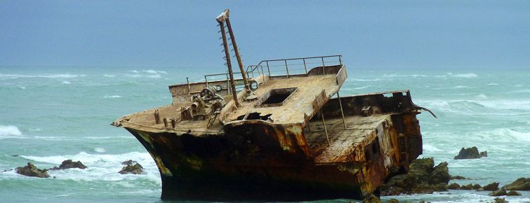 Shipwreck of the Meisho Maru