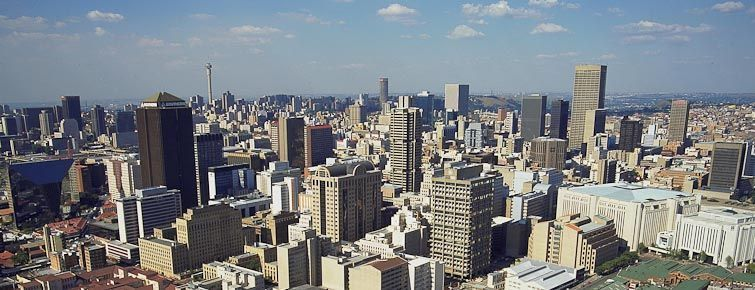Johannesburg city morning tour africa deluxe tours johannesburg skyline thecheapjerseys Images