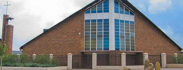 The Regina Mundi Catholic Church in Soweto