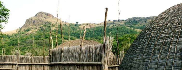 Traditional Swazi Huts